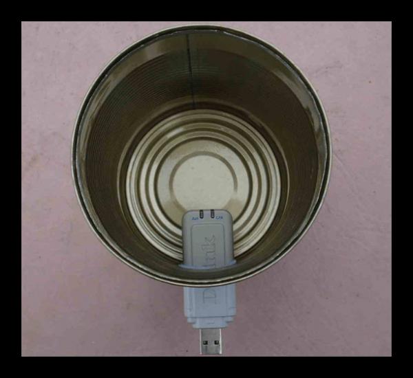 Баночная антенна
