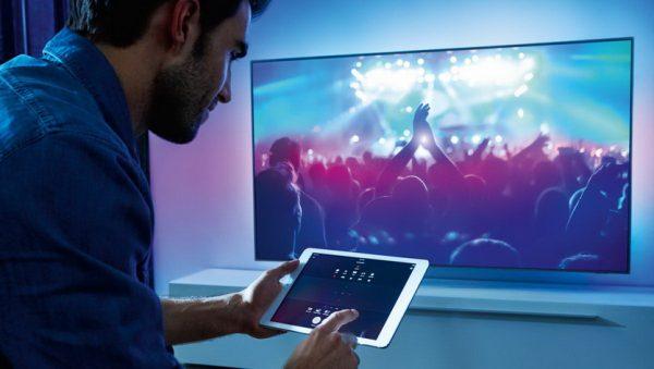 Управление телевизором с iPad