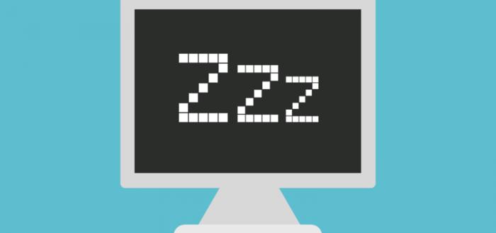 компьютер в спящем режиме