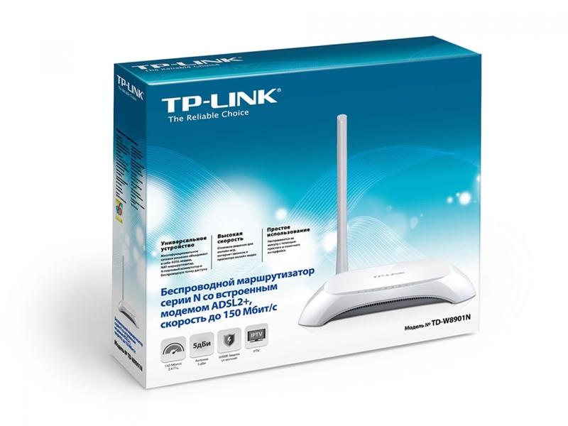 Роутер TP-LINK TD-W8901N: пошаговая инструкция по настройке