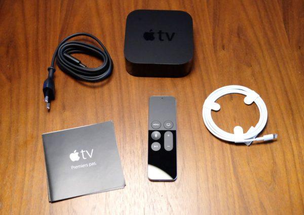 Комплектация приставки Apple TV