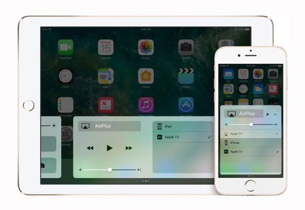 Включение функции AirPlay на айфоне и айпаде